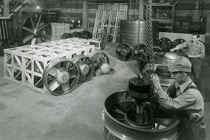 Moore Fans has been providing Air Flow Solutions since 1940